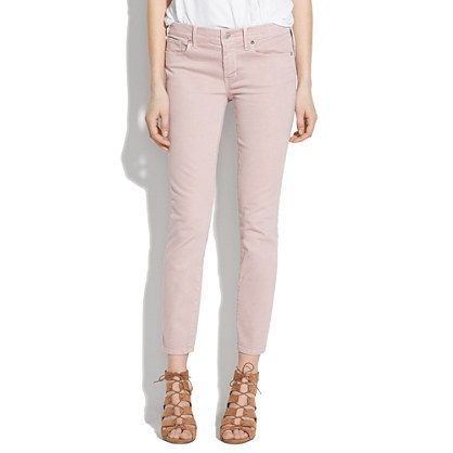 Skinny Skinny Crop Jeans: Colorwash Edition