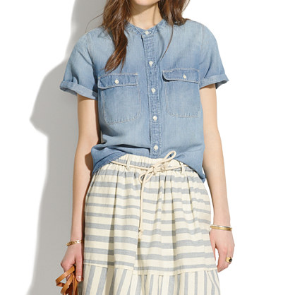 Perfect Chambray Sunday Shirt