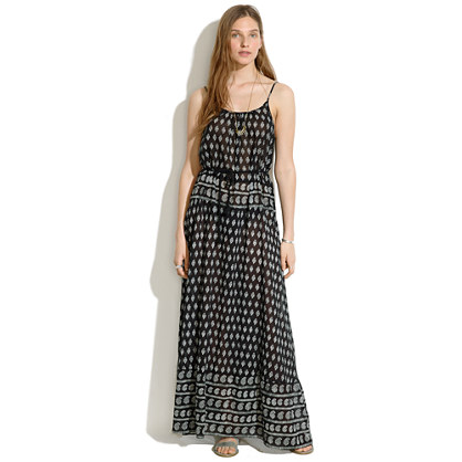 Cami Maxidress in Moroccan Floral