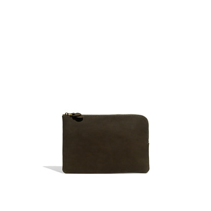 The Zip Pochette in Leather