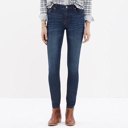 Sale alerts for Madewell High Riser Skinny Skinny Jeans in Atlantic - Covvet