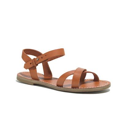 The Crisscross Sightseer Sandal