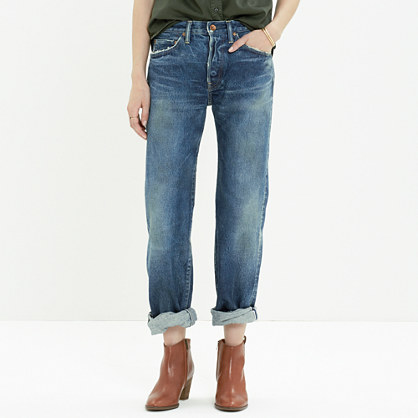 Chimala® Selvedge Straight-Leg Jeans