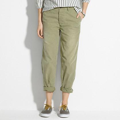 Chimala® Chambray Baggy Trousers