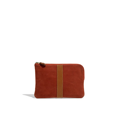 The Zip Pochette in Nubuck