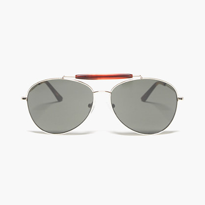 Bon Top Bar Aviator Sunglasses