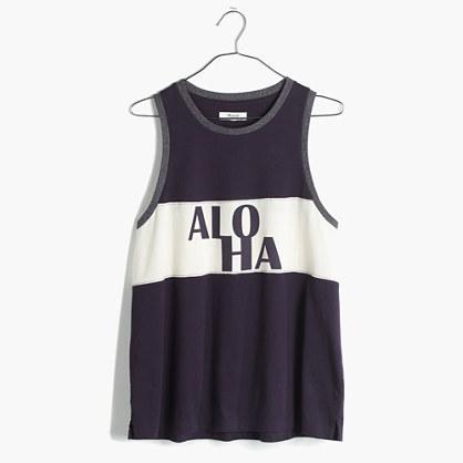 Aloha Ringer Tank