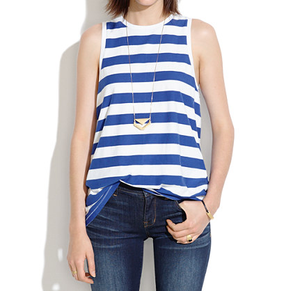 A-Line Tank in Stripe