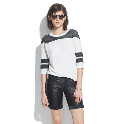 Laer® Leather Bermuda Shorts