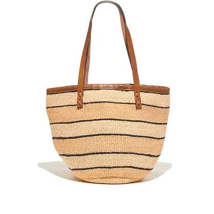 Bamboula Ltd. & Madewell Woven Shoulder Bag