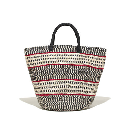 Bamboula Ltd. & Madewell Woven Tote