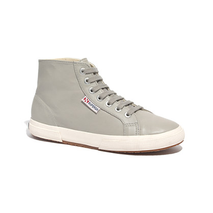 Superga® & Madewell 2095 High-Top Leather Sneakers