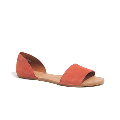 The Thea Sandal in Nubuck