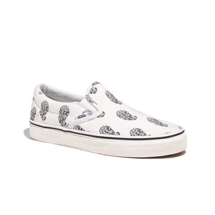 Vans® & Madewell Paisley Slip-Ons