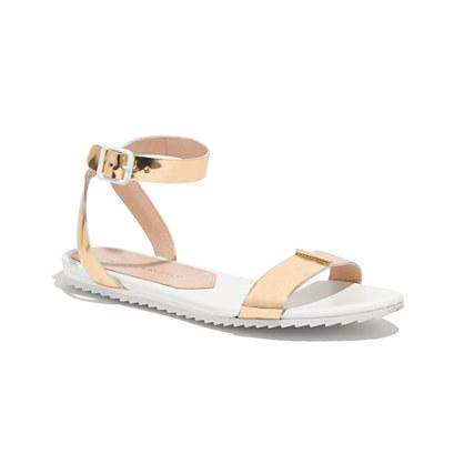 Loeffler Randall® Metallic Gilda Sandals