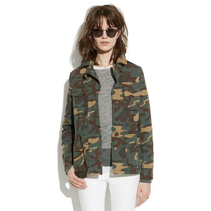Outbound Jacket in Vintage Dyed Camo