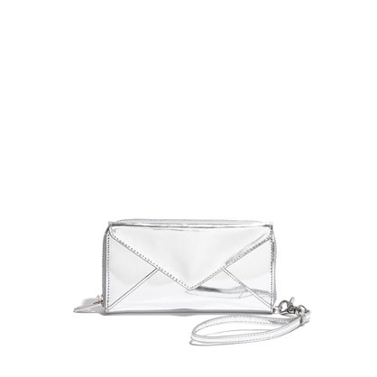 Loeffler Randall® Zip Wallet in Metallic