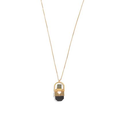 Stonehinge Pendant Necklace