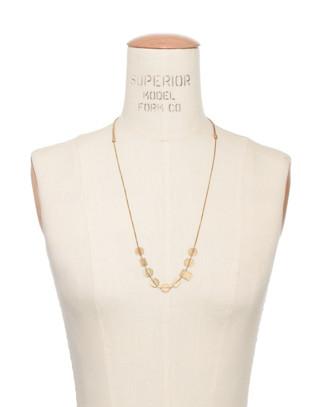 Holding Pattern Necklace in vintage gold image 3