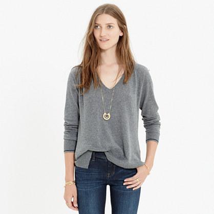 Tiebreaker V-Neck Pullover