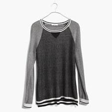 Tiptone Pullover - TRUE BLACK