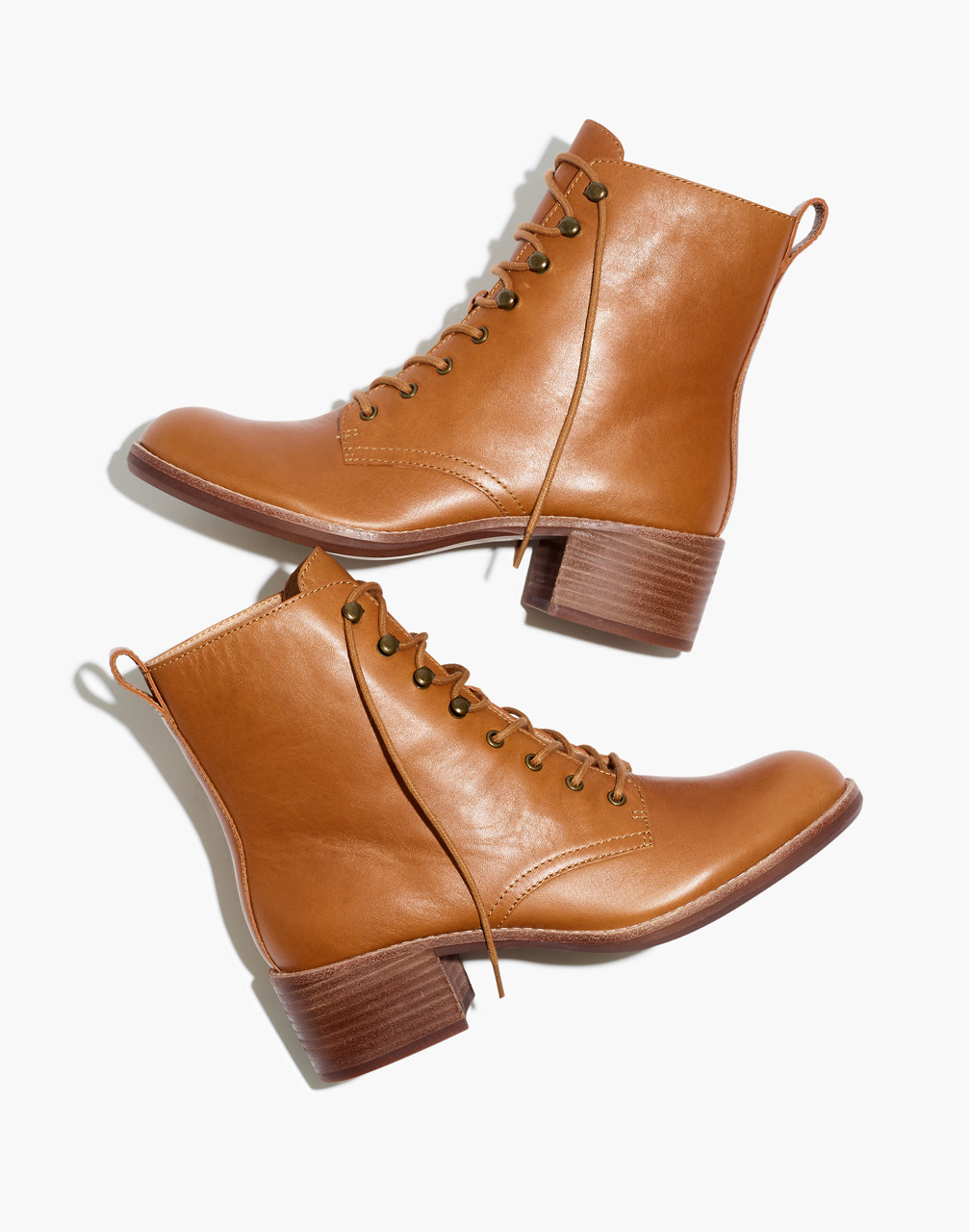 70s Shoes, Platforms, Boots, Heels | 1970s Shoes The Patti Lace-Up Boot $228.00 AT vintagedancer.com