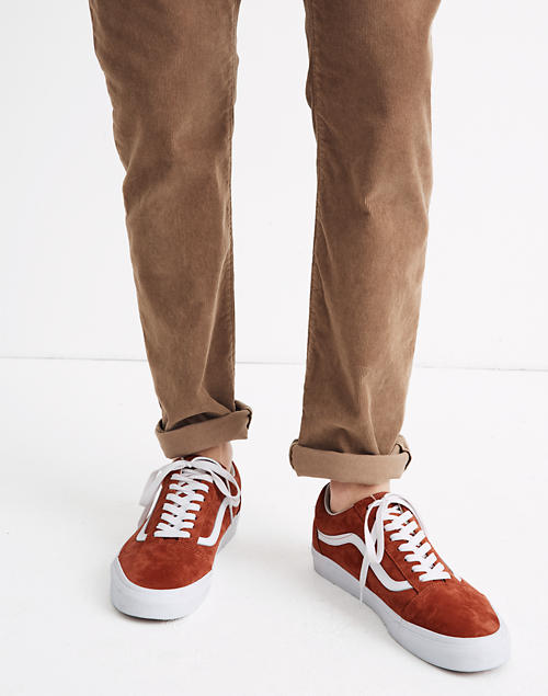 Vans® Unisex Old Skool Lace-Up Sneakers in Suede and Canvas