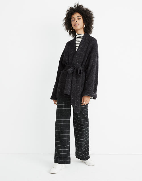 Donegal Tie Waist Cardigan Sweater by Madewell
