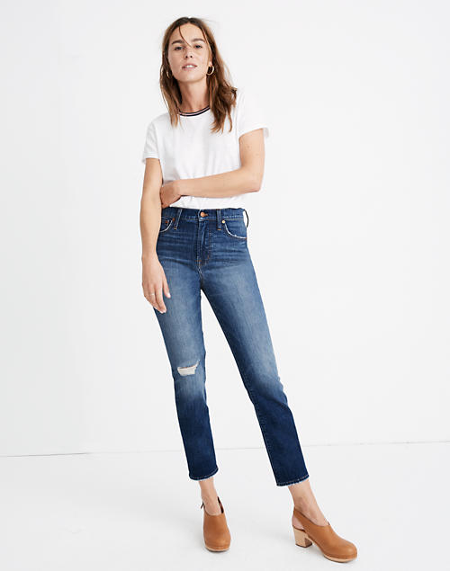 The Petite Perfect Vintage Jean In Bellbrook Wash: Comfort Stretch Edition by Madewell