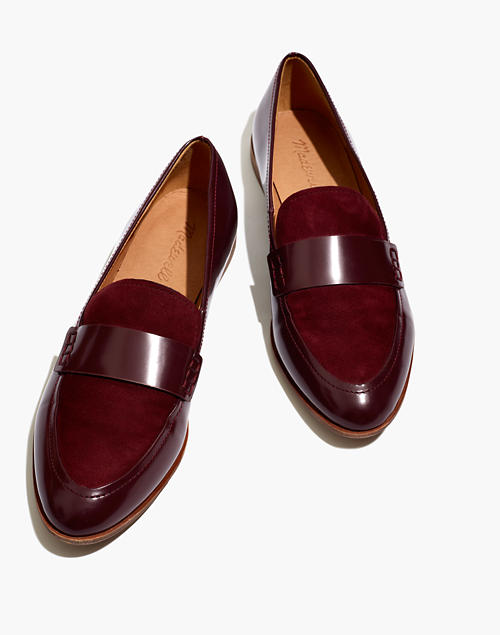 The Alex Loafer In Suede by Madewell
