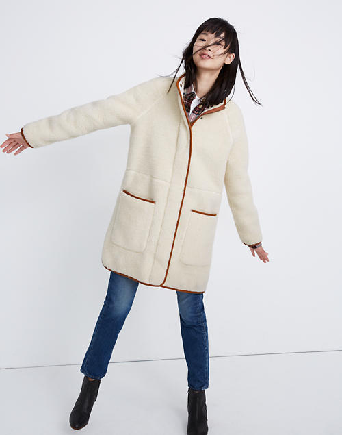 Sherpa Estate Coat by Madewell