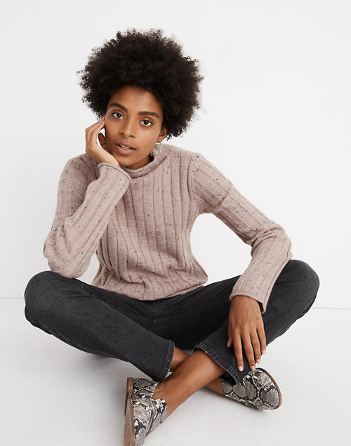 Donegal Evercrest Turtleneck Sweater In Coziest Yarn by Madewell