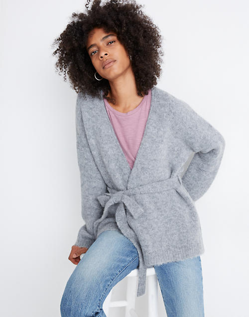 Harmon Wrap Cardigan Sweater by Madewell