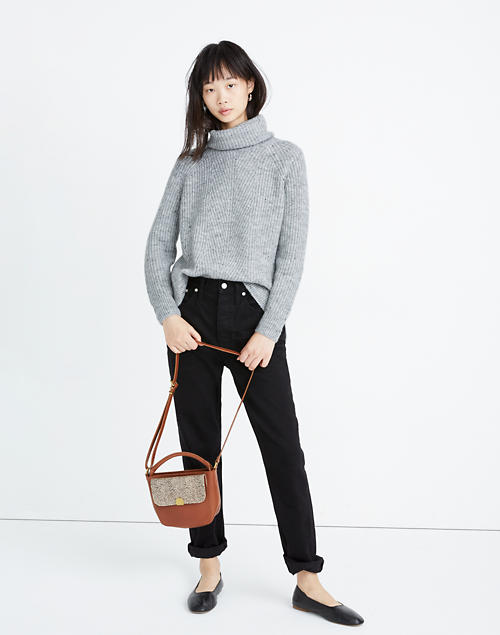 Donegal Mercer Turtleneck Sweater In Coziest Yarn by Madewell