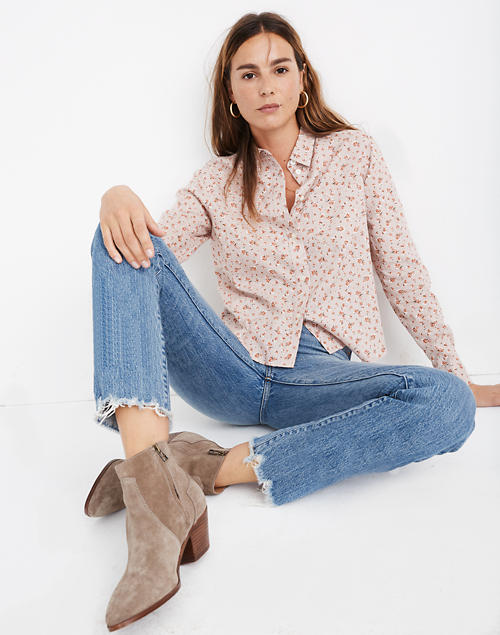 Shrunken Ex Boyfriend Shirt In Baby's Breath by Madewell