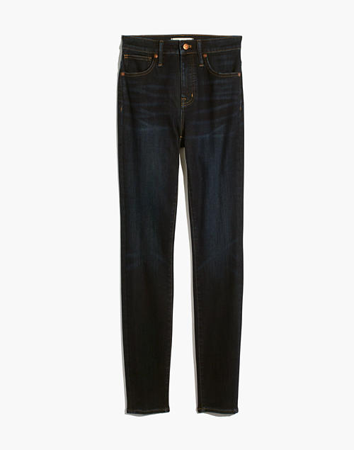 petite-curvy-high-rise-skinny-jeans-in-larkspur-wash:-tencel-denim-edition by madewell