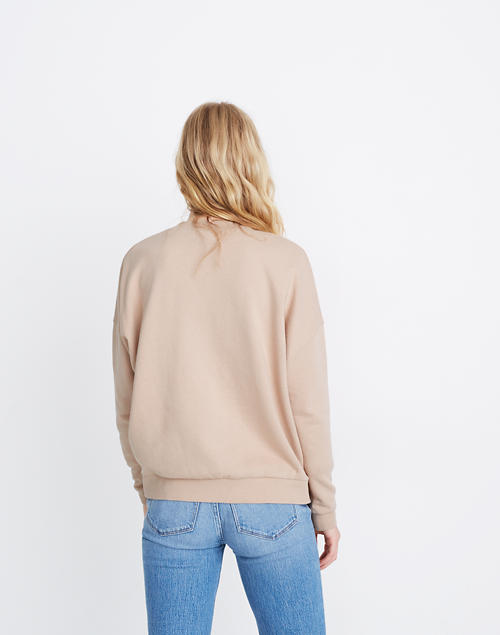 Recycled Cotton Oversized Sweatshirt