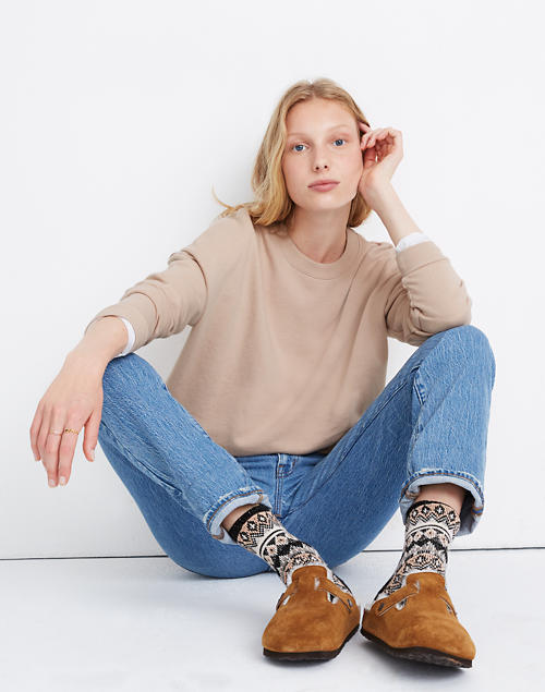 Recycled Cotton Oversized Sweatshirt by Madewell