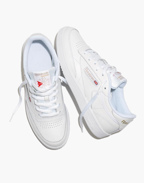 Reebok® Club C 85 Lace Up Sneakers