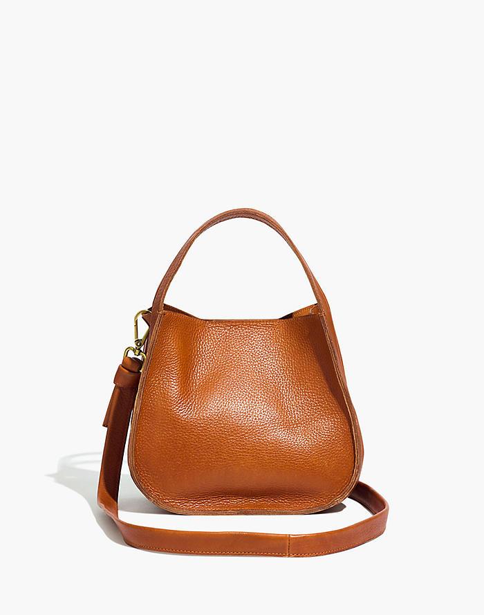 Madewell Sydney Crossbody Bag in Burnished Caramel
