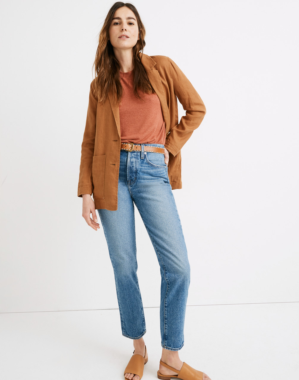 90s Clothing Outfits You Can Buy Now The Perfect Vintage Jean in Cormie Wash $79.99 AT vintagedancer.com