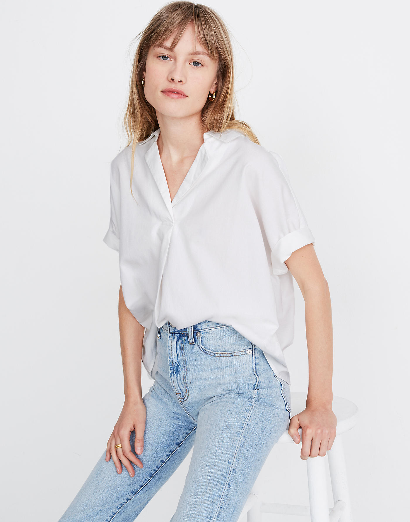 Madewell Park Popover Shirt