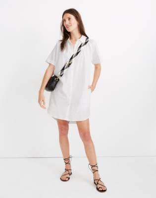 Raglan-Sleeve Shirtdress