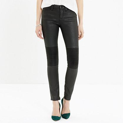 Skinny Skinny Zip Racetrack Jeans