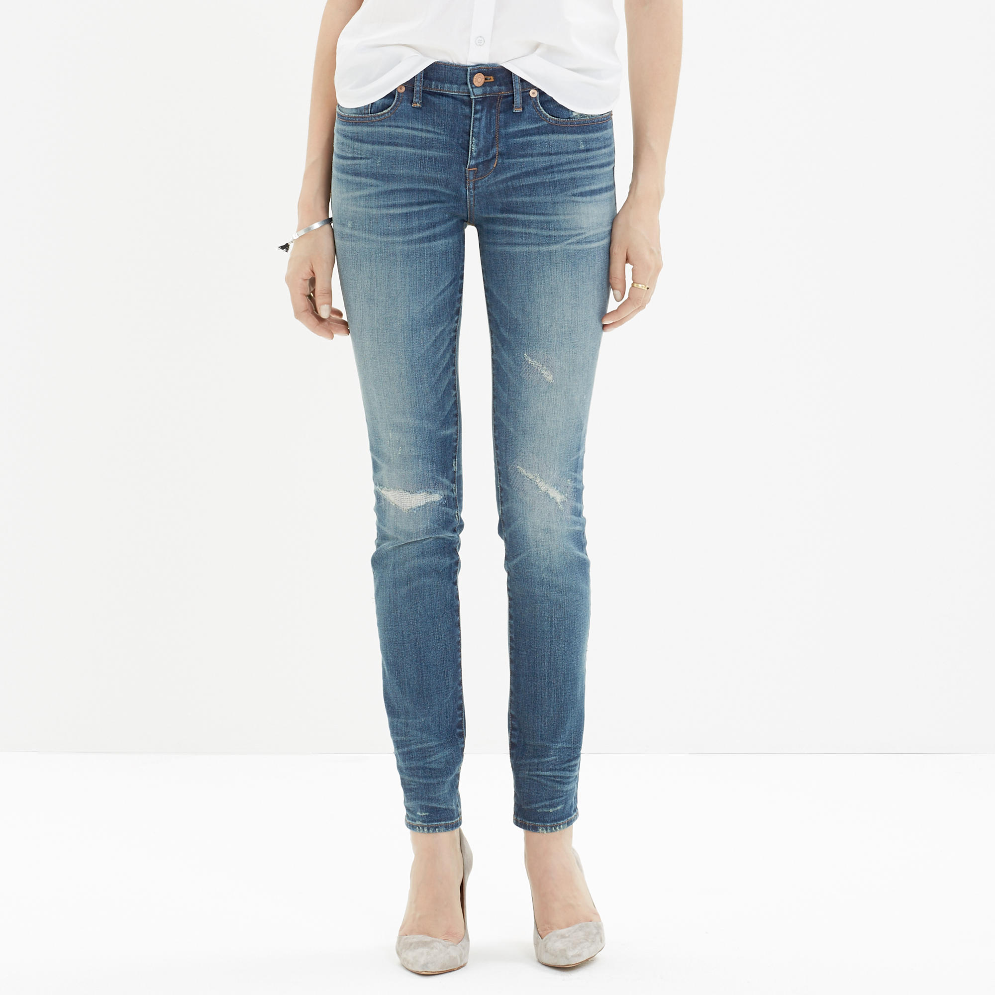 Skinny Skinny Jeans: Rip and Repair Edition : skinny jeans | Madewell