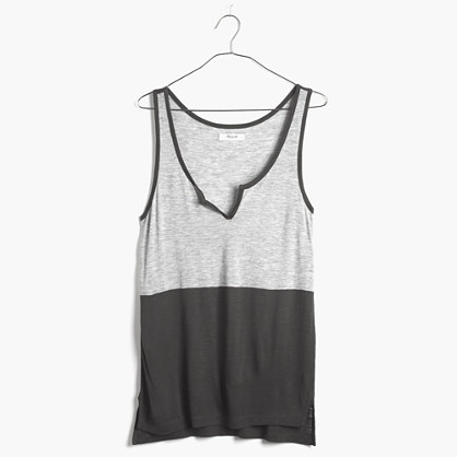 Top-Notch Tank in Colorblock