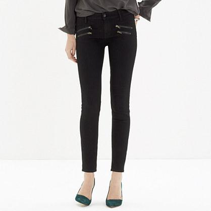 Skinny Skinny Jeans: Biker-Zip Edition : skinny jeans | Madewell