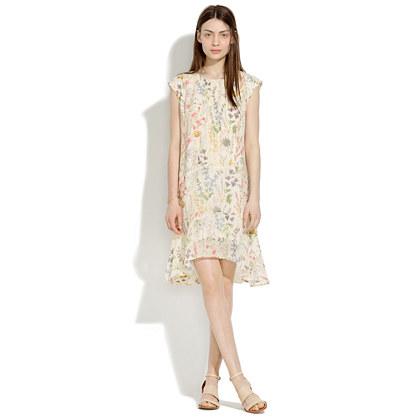 Silk Gardengate Dress