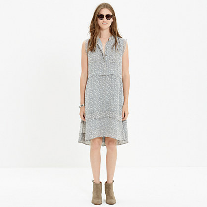 Shirtdress in Willowleaf