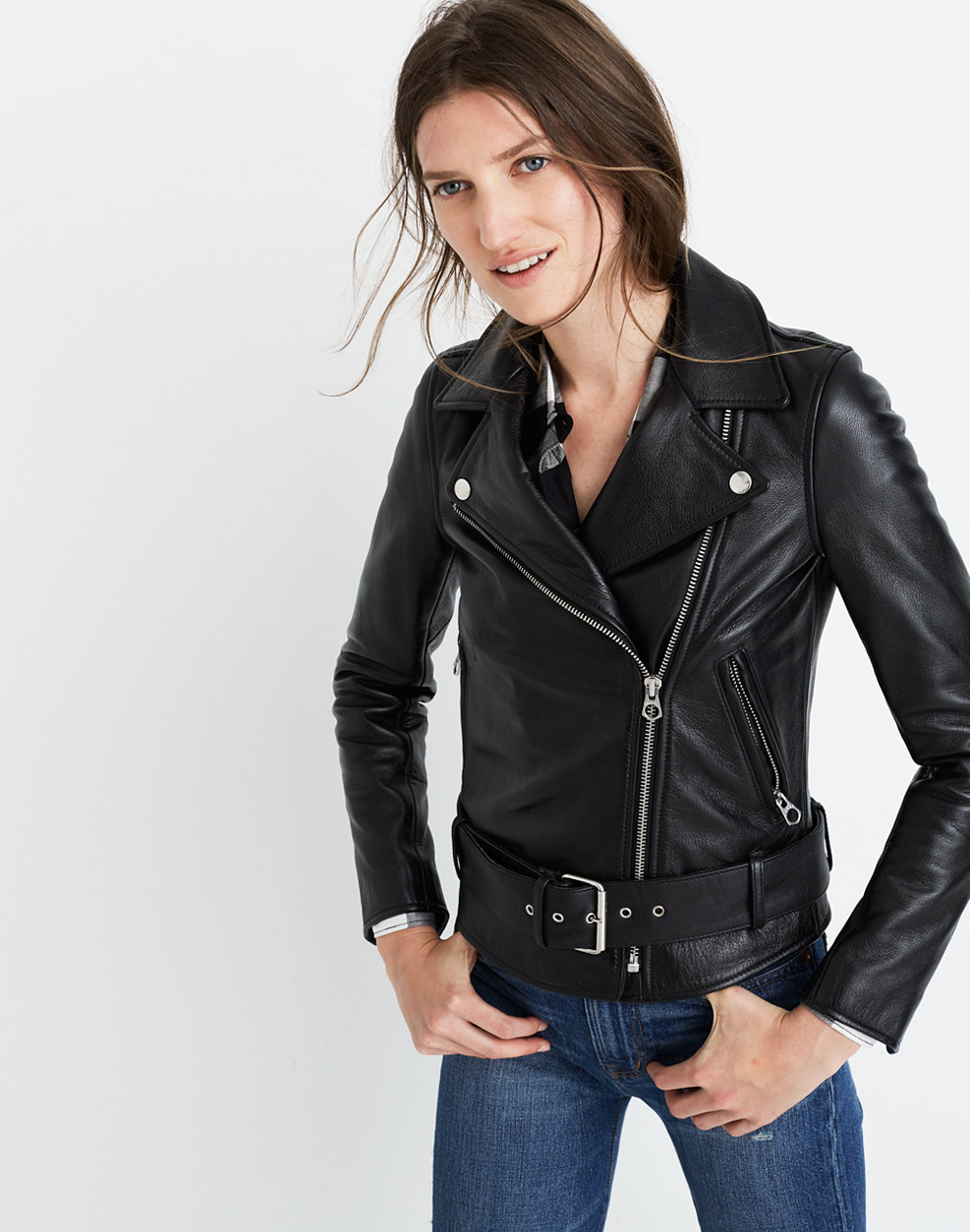Ultimate Leather Motorcycle Jacket : leather jackets | Madewell